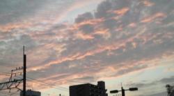 あの日の夕焼けはこんな感じだった